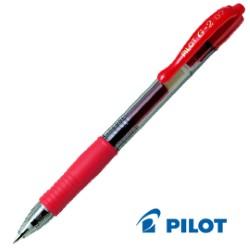 PILOT G-2 07 GEL ROSSO