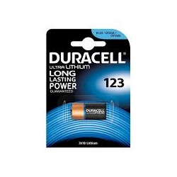DURACELL CR123 / 3V LITIO