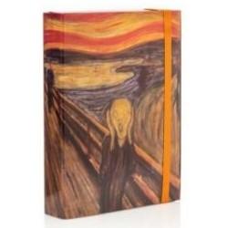Cartella con elastico Munch