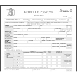 MODELLO 730 ANNO 2020