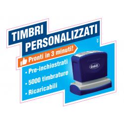 TIMBRO 16x48 NERO (MAX 4...
