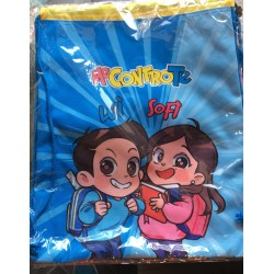 Sakky Bag Me Contro Te Celeste