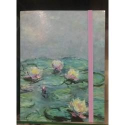 Cartella con elastico Monet...