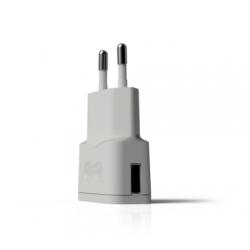 Caricatore USB 1A Bianco...