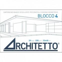 Blocco4 F4 Liscio 33x48 220gmq