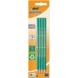 Set 4 Matite Bic Evolution...