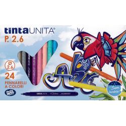 24 Pennarelli TintaUnita