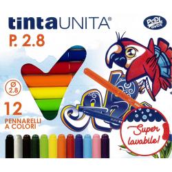 12 Pennarelli TintaUnita