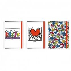 Cartellina Keith Haring Con...