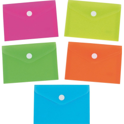 Buste con bottone colori Neon