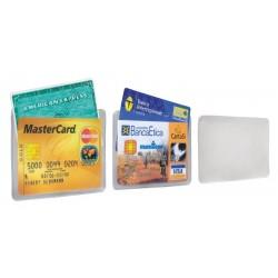 Porta card tasca doppia