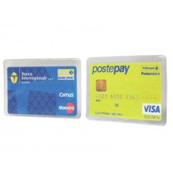 Porta card tasca singola
