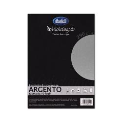 Cartoncino Argento - 250g...