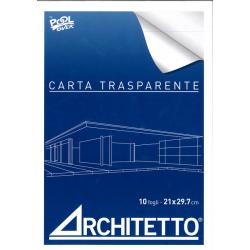CARTA TRASPARENTE F.TO  A4