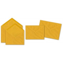 Buste gialle 12x18cm